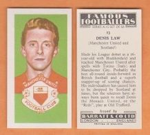 Manchester United Denis Law Scotland 13